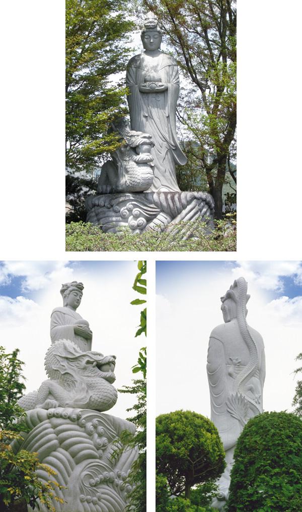 龍頭観音菩薩像